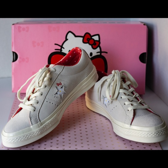 eb1d3d495348 Converse Shoes | X Hello Kitty Limited Edition | Poshmark